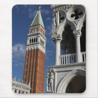 Venice San Marco Bell Tower & Doge Palace Mouse Pad