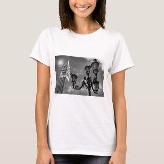 Venice San Marco Tower and Street Lights T-Shirt