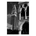Venice San Marco Tower & Doge Palace Poster