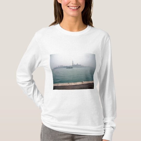 Venice seagull walking on the dock T-Shirt