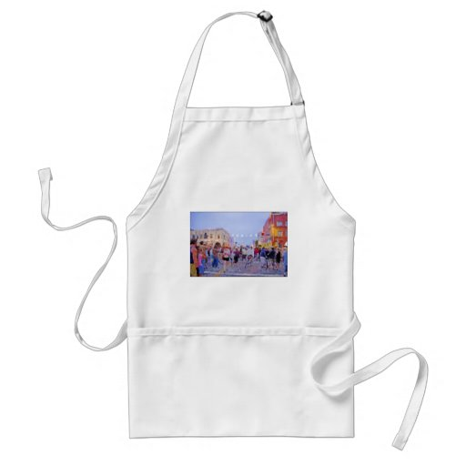 """Venice Sign Lighting"" Ceremony Apron"