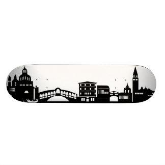 venice skyline skate deck