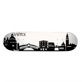 venice skyline skateboard deck