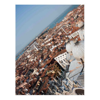 Venice Snapshot atop San Marco Square Postcard