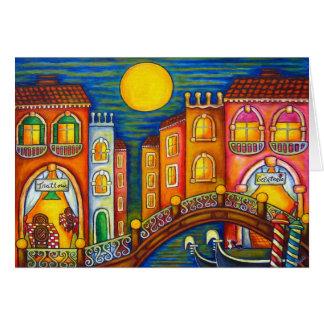 Venice Soiree Greeting Card