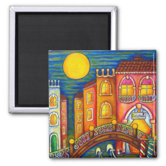 Venice Soiree Magnet 2 by Lisa Lorenz
