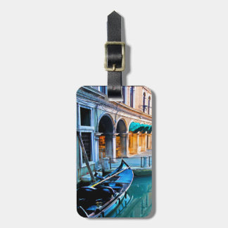 Venice Special Alley with Love Quote Luggage Tag