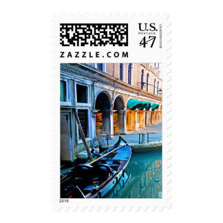 Venice Special Alley with Love Quote Postage