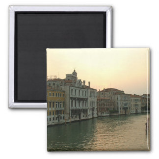 Venice Sunset 2 Inch Square Magnet