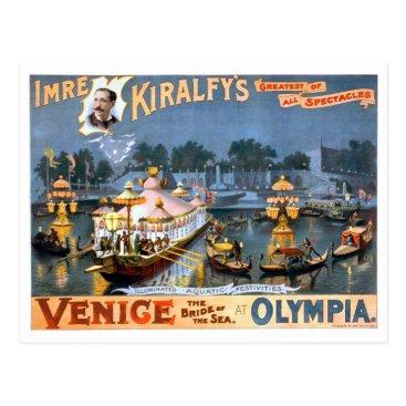 USA Themed Venice, the Bride of the Sea Postcard