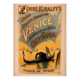 Venice, The Bride of the Sea, 'Venice of To-Day' Postcard