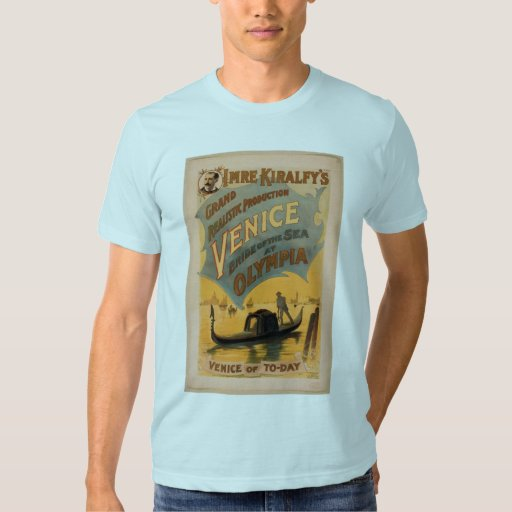 Venice, The Bride of the Sea, 'Venice of To-Day' Shirts