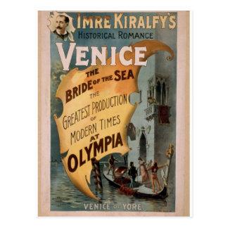 Venice, The Bride of the Sea, 'Venice of Yore' Postcard