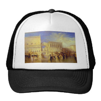 Venice the Bridge of Sighs by J M W Turner Mesh Hats