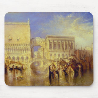 Venice, the Bridge of Sighs by J. M. W. Turner Mouse Pad