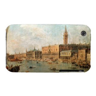 Venice: The Doge's Palace and the Molo from the Ba iPhone 3 Case
