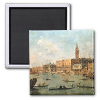 Venice: The Doge's Palace and the Molo from the Ba Magnet