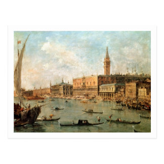 Venice: The Doge's Palace and the Molo from the Ba Postcard