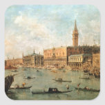 Venice: The Doge's Palace and the Molo from the Ba Square Sticker
