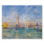 Venice (The Doge's Palace) Pierre-Auguste Renoir Posters