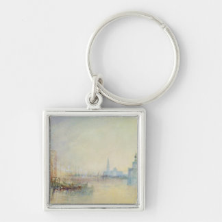 Venice, The Mouth of the Grand Canal, c.1840 (w/c Keychain