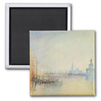 Venice, The Mouth of the Grand Canal, c.1840 (w/c Magnet
