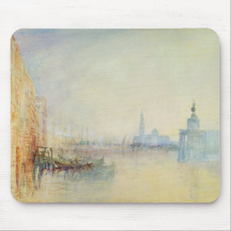 Venice, The Mouth of the Grand Canal, c.1840 (w/c Mouse Pad