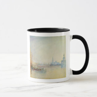 Venice, The Mouth of the Grand Canal, c.1840 (w/c Mug