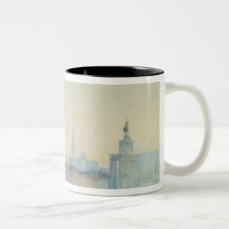 Venice, The Mouth of the Grand Canal, c.1840 (w/c Two-Tone Coffee Mug