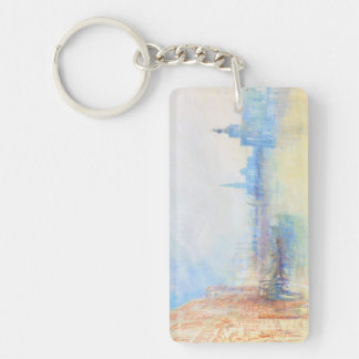 Venice The Mouth of the Grand Canal joseph Mallord Keychain
