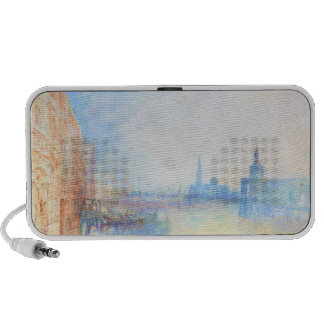 Venice The Mouth of the Grand Canal joseph Mallord Laptop Speakers