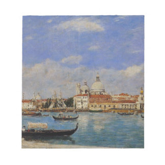 Venice, The Salute and the Douane, the Guidecca Notepad