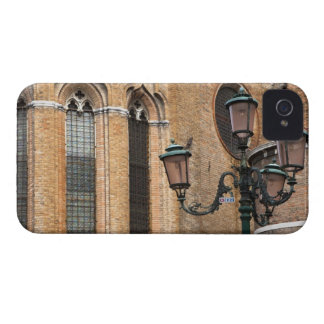 Venice, Veneto, Italy - A lamp post is standing iPhone 4 Case