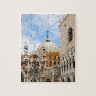 Venice, Veneto, Italy - Birds are perched on a Jigsaw Puzzle