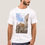 Venice, Veneto, Italy - Birds are perched on a T-Shirt