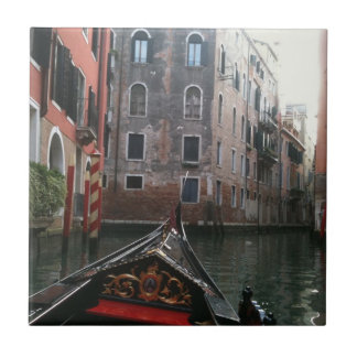 Venice Via Gondola Tile
