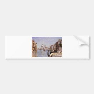 Venice - View of Campo della Carita looking ... Bumper Sticker