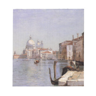 Venice - View of Campo della Carita looking ... Notepad