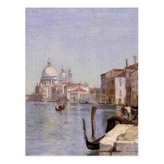 Venice - View of Campo della Carita looking ... Postcard