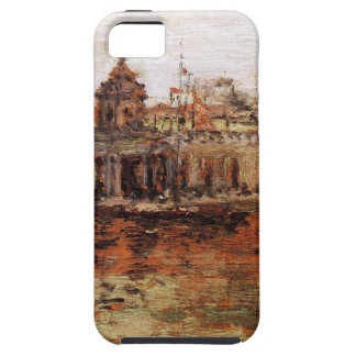 Venice - View of the Navy Arsenal by William Merri iPhone SE/5/5s Case