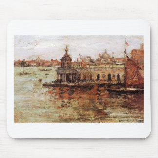 Venice - View of the Navy Arsenal by William Merri Mouse Pad