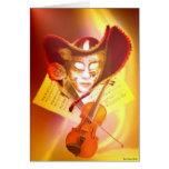 Venice Violinist Card