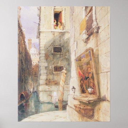 Venice (w/c) poster