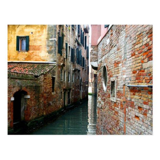 Venice walls postcard