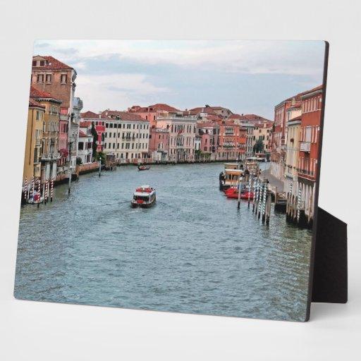 Venice Waterway Display Plaque