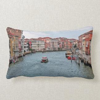 Venice Waterway Lumbar Pillow