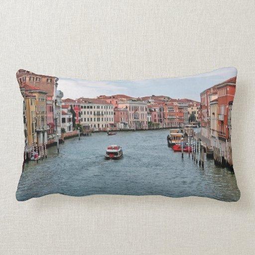 Venice Waterway Pillow