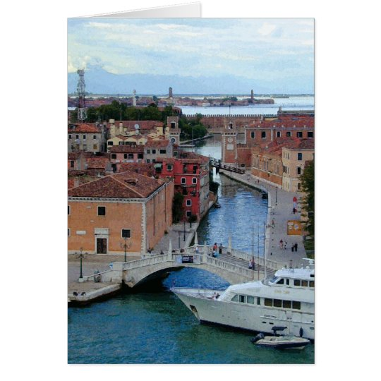 Venice Waterways Too Card