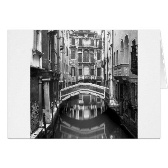 Venician Waterway Card