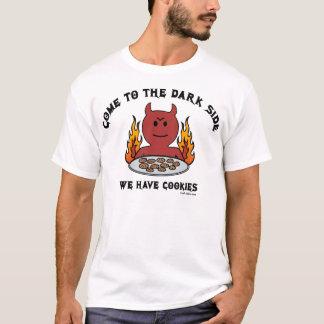 Venido a la camiseta del lado oscuro